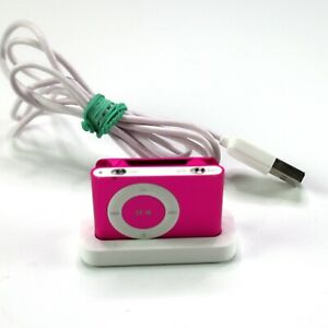 Apple iPod Shuffle 4th Gen Pink 2GB - A1373 - Great Condition, Tested, Works!