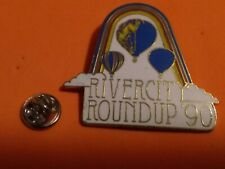 New ListingRivercit Roundup 90 Hot air balloon Pin,S/H combined no additional charge