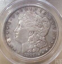 1888 S MORGAN DOLLAR GRADED XF 45 BY PCGS!!!!!