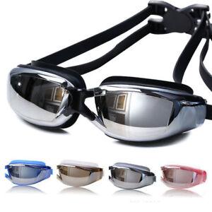 Swimming Glasses Goggles Professional Anti-Fog UV Protection Waterproof Adult