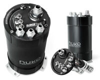 Nuke Performance Billet Surge Tank Twin DW400 Internal Pumps Turbo E85