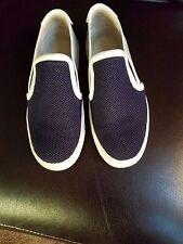 EUC Vince Bram Women's Slip On Sneakers - Navy, Gray, White - Size 7M