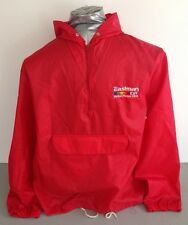Eastman EXR Films Vintage Windbreaker Jacket Cameraman Kodak Red Large L