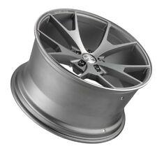 20X10 Concept One CSM5 5x114.3 ET40 Matte Gunmetal Machined Wheel (1 Rim)
