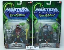 MOTU, Serpent Track Mekaneck & Claw Man-At-Arms, 200x, Masters of the Universe