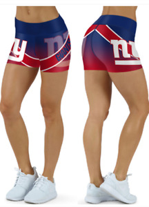 New York Giants Small to 2XL Women's Shorts