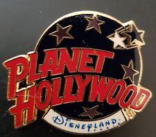 Planet Hollywood Pin / Badge Disneyland Paris Classic Dark Blue Globe Logo