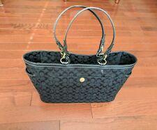 Coach Black Diaper Bag No A0771-10841