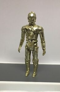 Star Wars Vintage 1977 Fixed Limb C3PO Hong Kong Figure Nice Condition