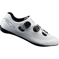Shimano RC7 / RC701 SPD-SL Wide Bicycle Cycle Bike Shoes White