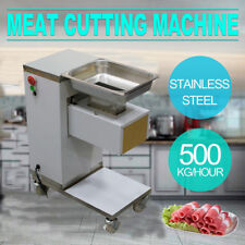 �Us Ship】Meat Cutting Machine ,Meat Cutter Slicer,500Kg Output,w/3Mm Blade Fda