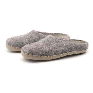 Nootkas Men's and Women's Astoria Wool House Slippers