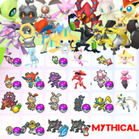 Pokemon Sword & Shield✨ALL MYTHICAL (24) POKEMON Legendary Bundle CROWN TUNDRA