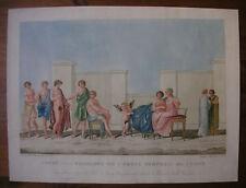 L. Mirri/Cluny 'Penelope ulises ulises' Romae del Titus, domus aurea, 1802