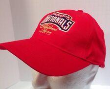 Washington Nationals Inaugural Season Budweiser Red Adjustable Hat Cap 2008