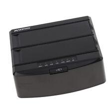 "USB 3.0 to Dual Bay SATA Hard Drive Dock Stand 3.5"" 2.5"" HDD Docking Station"