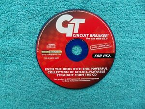 GT CIRCUIT BREAKER cheats for use with gran turismo 3 - ps2 / sony playstation 2