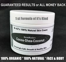 Extra Dry Skin MOISTURIZER Hydro Boost Body Butter Face Cream Shea Cocoa Coconut