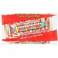 NEW SEALED ASSORTED FLAVORS SMARTIES CANDY ROLLS 16 OZ FREE WORLDWIDE SHIPPING