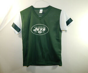 New York Jets NFL Football Jersey Franklin Boys Size YOUTH MEDIUM M