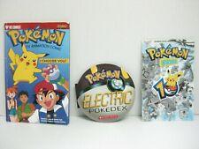 Lot 3 Pokemon Books I Choose You + Pokemon Fan 10 Spec.Issue+ Electric Pokedex
