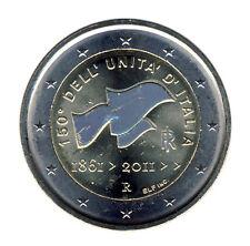 Italia - 2 euro 2011 - 150 años de asociación-holograma (12353/1475n)