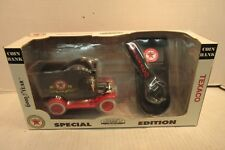 1999 Gearbox Toys Texaco 1912 Ford Model T Delivery Car Coin Bank & Tool 76528