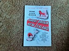 More details for great britain v new zealand 1971 rugby league signed very rare