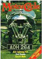 CM 84-03 BSA A65 Lightning Velocette Venom BSA L25 James Captain Norton model 50