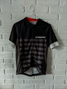 Bontrager Profila TREK FACTORY RACING Cycling Jersey Men's Size L Full-Zip Shirt