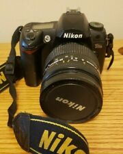 Nikon D D70s 6.1MP Digital SLR Camera Kit w/ 28-200mm lens, batteries, charger