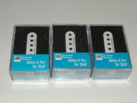 Seymour Duncan APS1 Alnico ll Pro Staggered for Strat Set WHITE  New Warranty