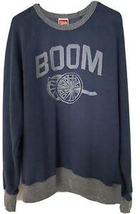 Homage Columbus Blue Jackets Cannon Crew Neck Sweatshirt