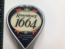 BEER TAP HANDLE KRONENBOURG 1664