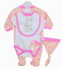 Me regarder grandir bébé fille 5 pièces layette cadeau Set Bunny Design 6/9 mois
