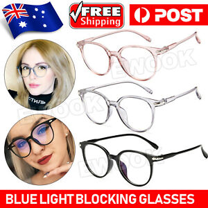 Blue Light Blocking Glasses Spectacles Anti Eyestrain Eyewear Protector NEW