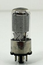 Hickok Tested Tel Rad 6SJ7 GT Vacuum Tube Silver Plates Japan