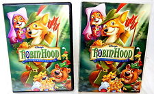 2B DVD ROBIN HOOD Walt Disney Most Wanted Edition Alternate Ending & More!