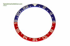 Bezel Insert GMT Style for Seiko 7S26-0020 SKX007 7002 6309 6306 Divers