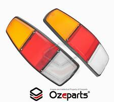 Pair LH+RH Tailight Tail Light Lamp Lens For Holden Kingswood WB Ute Panelvan
