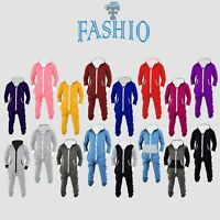 Men's One-Piece Non-Footed Pajama Adult Fleece Hooded Playsuit Jumpsuit Sleeper