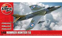 AIRFIX - HAWKER HUNTER F.6 JET AIRCRAFT - A09185  - 1:48 - UNOPENED