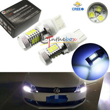 8000K CAN-bus 21-CREE LED Bulbs for VW B7 Volkswagen Passat Daytime DRL Lights