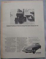 1970 Citroen Original advert