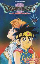DRAGON QUEST tome 35 Sanjo Inada LA QUETE DE DAI manga shonen