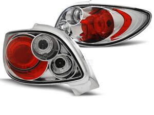 Luces traseras for Peugeot 206 CC 98-Chrome envío gratis LTPE01WL XINO AU