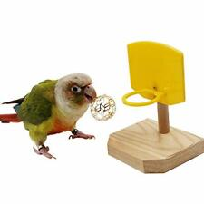 Bird Toys Tabletop Toys Training Basketball Stacking Color Ring Toys Sets