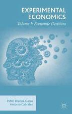 Experimental Economics: Volume I: Economic Decisions