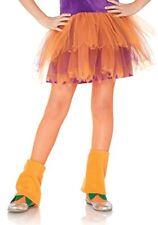Vêtements orange en acrylique pour fille de 2 à 16 ans