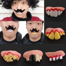 2pcs Random Dead Zed Zombie SET Fake ADULT Funny Teeth Costume Halloween